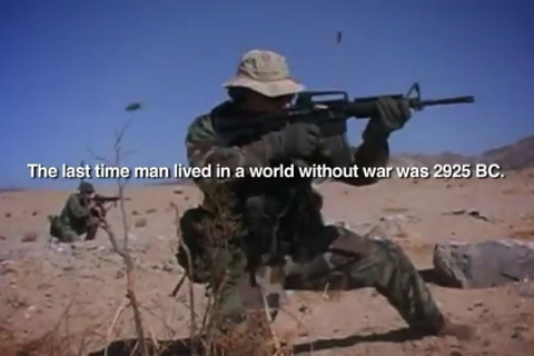 universalequalityisinevitable:  War must end.