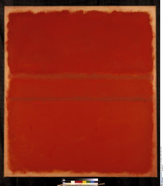 gacougnol:  Mark Rothko  Red Number 5 1961