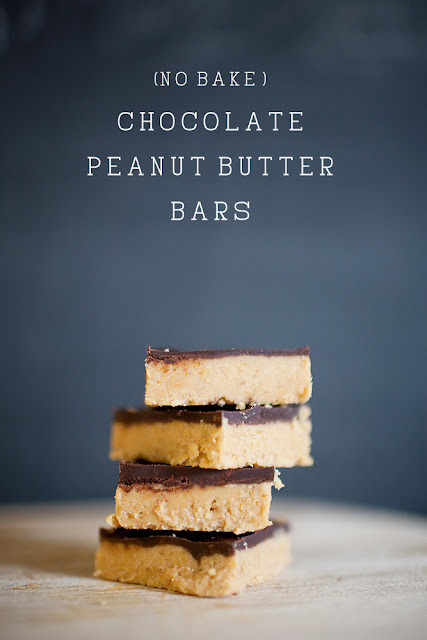 (No Bake) Chocolate Peanut Butter Bars