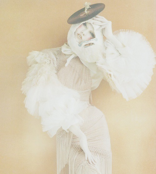 "Karlie kloss in Vogue UK October 2011 ""Russian Doll"" by tim walker"