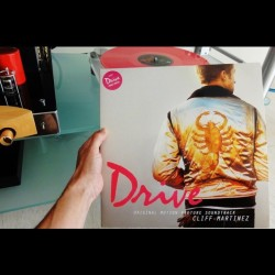 New arrival: #drivesoundtrack, extremely ltd. ed. Gatefold 180 gr. double pink #vinyl #vinylrecords #LA #LosAngeles #collectible #soundtrack #movie #music #audiophile  (Tomada con Instagram)