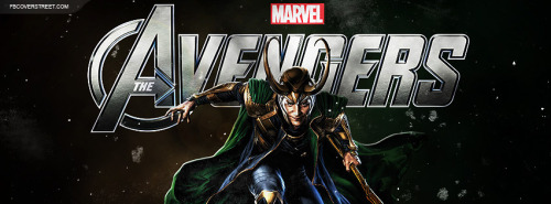 The Avengers Loki 3 Facebook Cover
