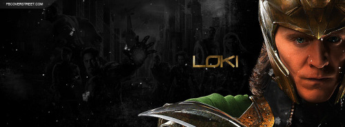 The Avengers Loki 2 Facebook Cover