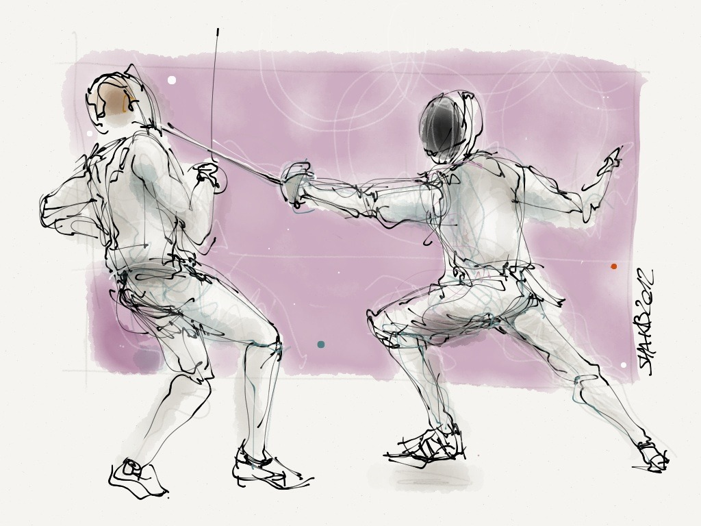 Fencing No.2 Made with Paper