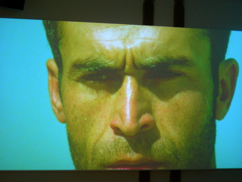 Random Middle Eastern hotness taken from Lida Abdul's video installation, What We Have Overlooked (2011).