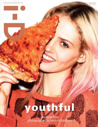 Charlotte Free by Terry Richardson for i-D