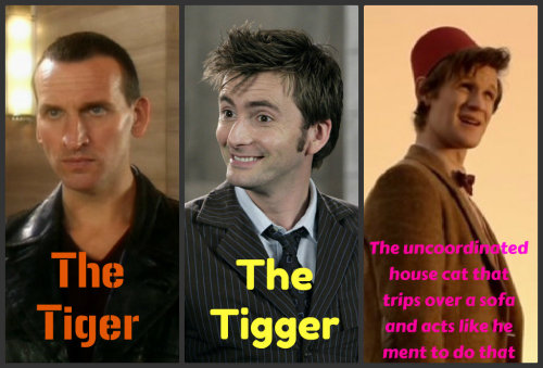 timelordsassemble:  Very true in Matt's case.  And I like it that way