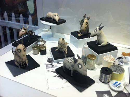 The Art of #Frankenweenie (via The Art of Frankenweenie, le nostre foto della mostra dedicata a Tim Burton | Il blog di ScreenWeek.it)