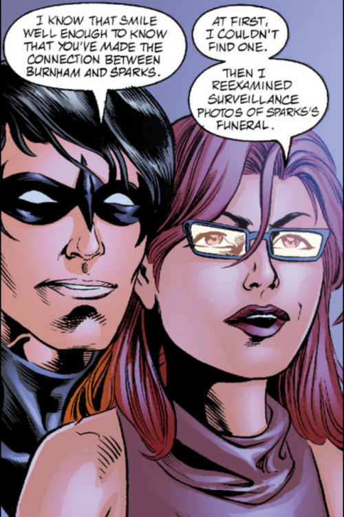 Does Dick Grayson have to be so damn cute?  And do Babs and Dick have to be so damn cute?