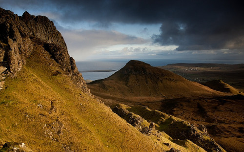 absolutescotland:  Staffin from the Quiraing, Skye by Kenny Muir on Flickr.