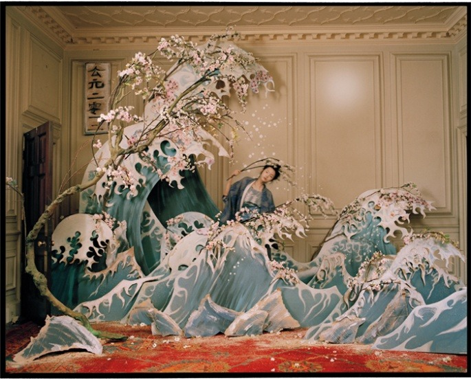 Tim Walker XIAO WEN,NORTHUMBERLAND, UK, 2011W MAGAZINE