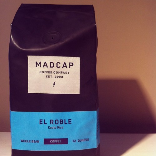 @madcapcoffee: the only #coffee that also makes a good gift. #GrandRapids #GRMi (Taken with Instagram)