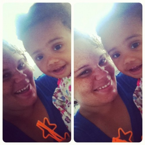 Ri & I @kushnhenny #cuties  (Taken with Instagram)