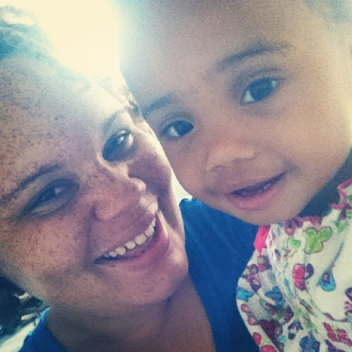 Sayuri Niyla my love #godbaby #beautiful #cuties  (Taken with Instagram)