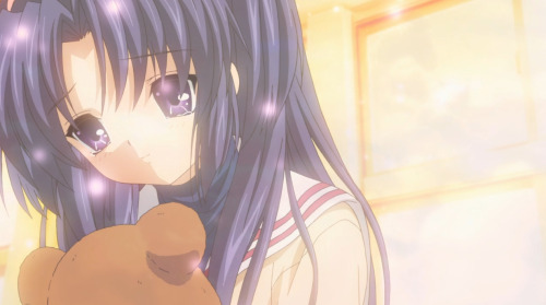 Dear Kotomi, The world is beautiful. Even when they are filled with sadness and tears, open your eyes.  Do what you wish to do.  Become what you want to be.  Make friends.  Don't rush, and take your time in becoming an adult.