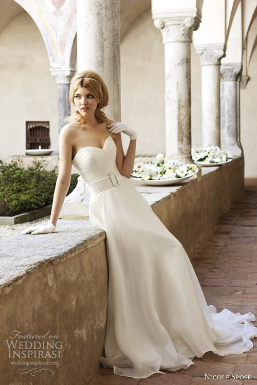 weddinginspirasi:  (via Nicole Spose Wedding Dresses 2012 | Wedding Inspirasi)