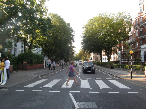 me. abbey road. best. walk. ever.