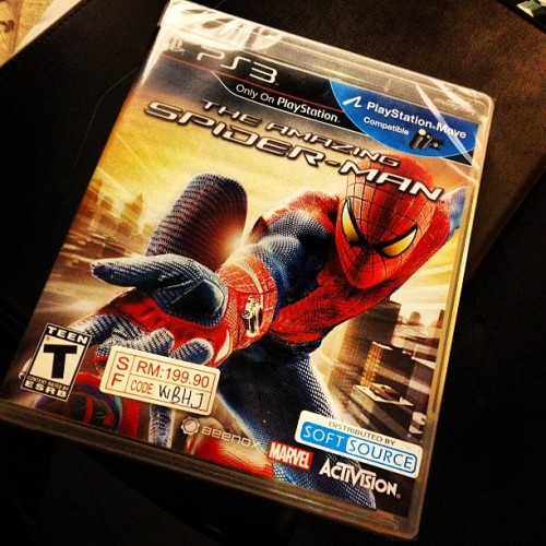The Amazing Spider-Man #ps3 #spiderman (Taken with Instagram at Plaza Low Yat)