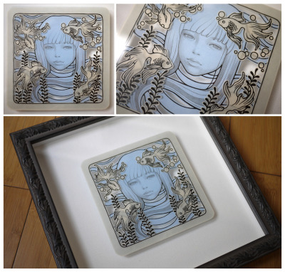(via . audrey kawasaki .: . auction begins! .) Hand Cut Vellum