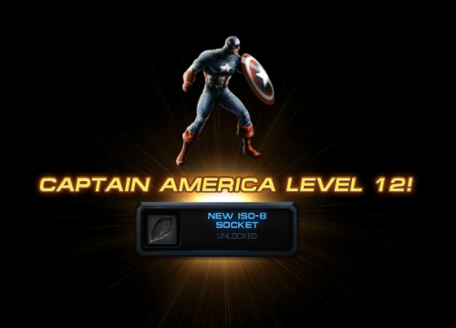 Maxed out my Captain America in Marvel: Avengers Alliance. He's a must-have for the game, up there with Spider-Man for me.
