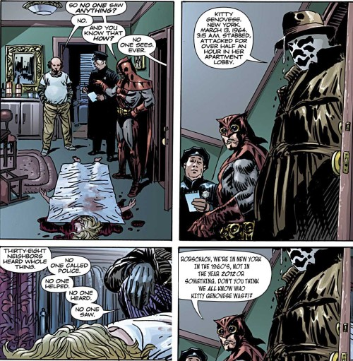 Here's a little something about the Straczynski-written Nite Owl, starring Rorschach.
