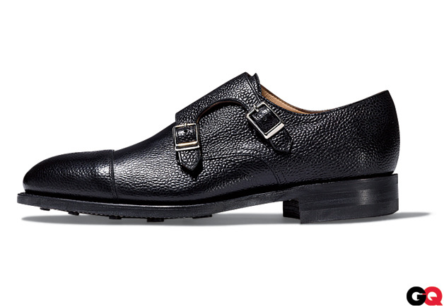 ovadiaandsons:  Ovadia & Sons Pebble Grain Monkstrap Via August @gqmagazine