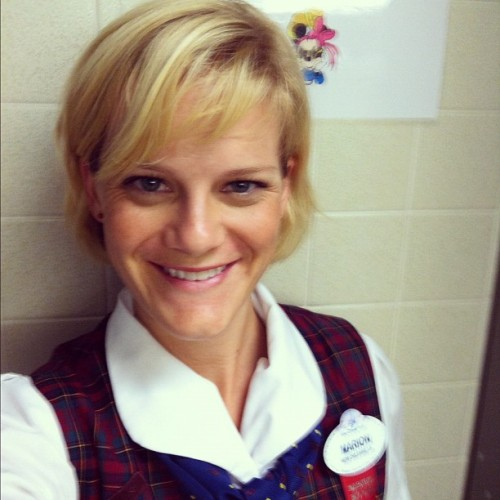 First day in the plaid!  (Taken with Instagram)