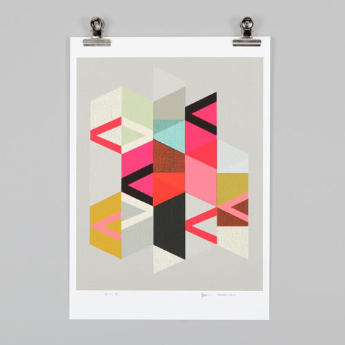 monecolle:  Endemic World Modern Graphic Posters | Design Milk