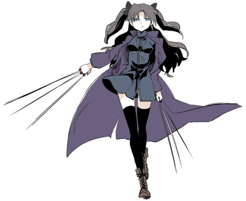 Rin Tohsaka is even more dangerous than ever.