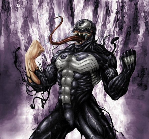youngjusticer:  There will never not be a kickass Venom in the world of fan art. Never. Venom, by Jeff Corbett.