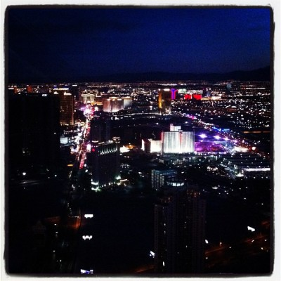 #lasvegas by #night #view #nevada #usatour12  (Pris avec Instagram)