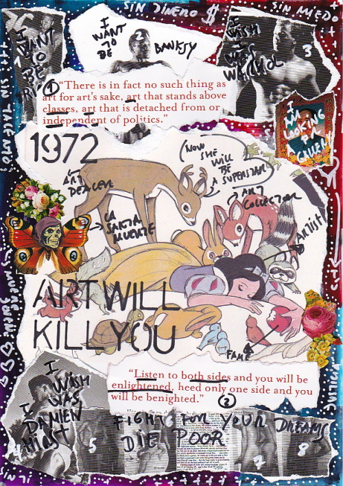 Art Will Kill You More Artworks in: WWW.IAMGOD.EU http://www.facebook.com/Roberta.Marrero.Art