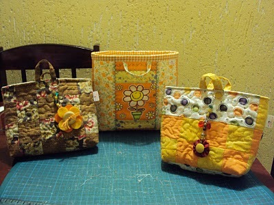patchwork organizer bag