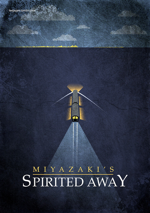 minimalmovieposters:  Spirited Away by Leah Jacobs-Gordon
