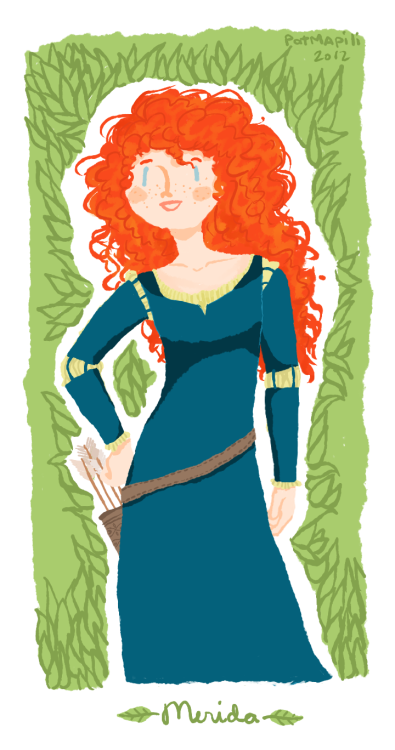 I just watched Brave yesterday with friends.AND IT WAS BEAUTIFUL. I LOVE HER HAIR, THE SOUNDTRACK, THE SCOTTISH ACCENTS, EVERYTHING *v* If only I were rich enough to watch it in the movies all over again.