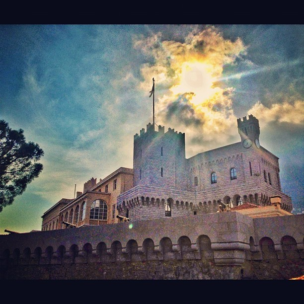 Prince's Palace- Monaco-Ville, Monaco (Taken with Instagram at Palais de Monaco)