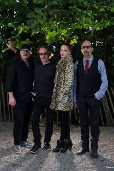 Garbage pose after performing at Paleo Festival, 21/7/2012.