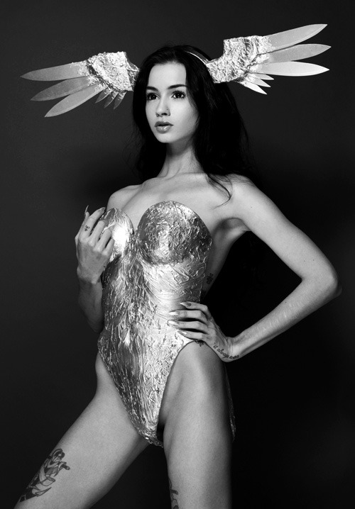 rollthedrumss:  model: Felice Fawn | ph: Maja Stina | designer: Elliot Joseph Rentz ROLL IT! | FB