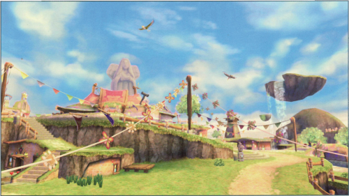 Today's batch of Skyward Sword concept art! Sorry, I've been busy and haven't been keeping you up on the Hyrule Historia pages! They're still being updated every day on the site, even if I forget to post them here. :)  • Pg. 16 Impa • Pg. 17 The Imprisoned & Demise • Pg. 18 The Overworld • Pg. 19 More Overworld • Pg. 20 Skyloft & the Islands in the Sky • Pg. 21 More Skyloft & the Islands in the Sky • Pg. 22 The Knight Academy • Pg. 23 More The Knight Academy   Check out the Hyrule Historia index page by clicking here!