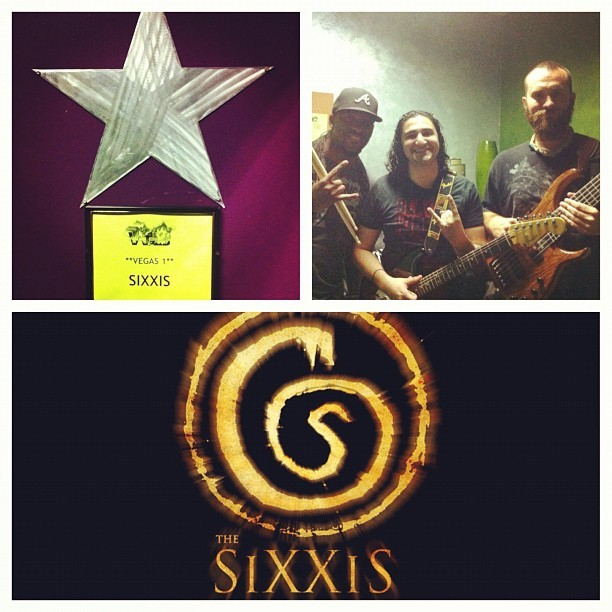 Great Show With With My Rock Band….#TheSixxiS (Taken with Instagram)