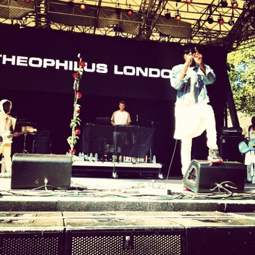 Theophilus London (Taken with Instagram)
