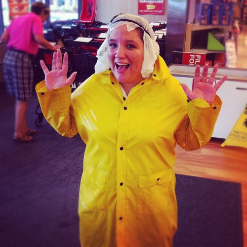 Playing in the #rain at #work (Taken with Instagram at Winn Dixie)