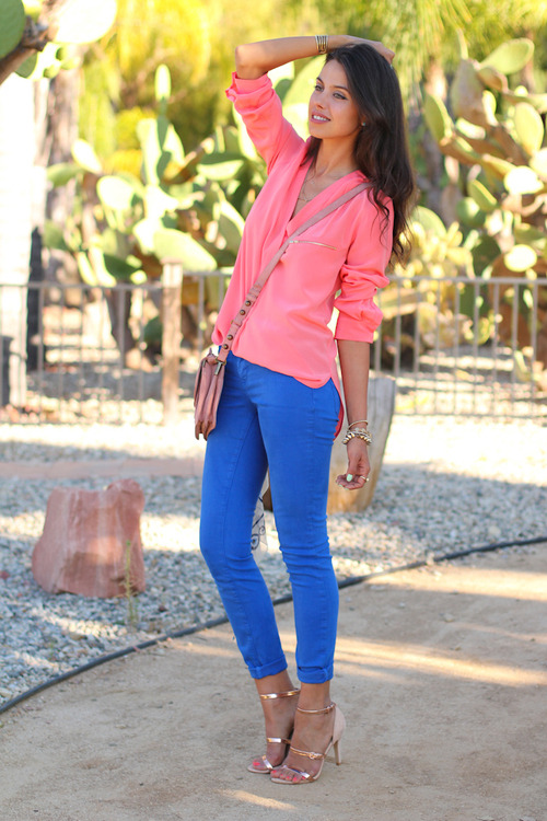 prepofthesouth:  love this color combo