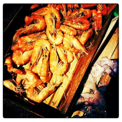 death in a box #shellfish #allergy  (Taken with Instagram)