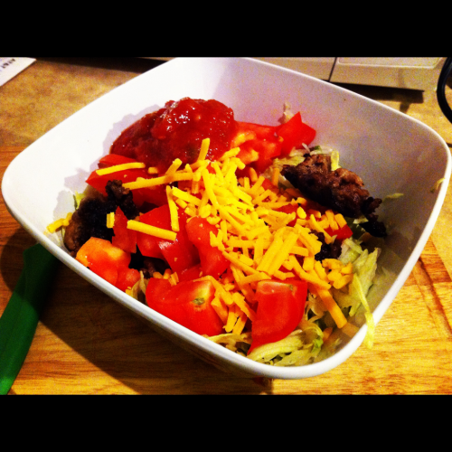 more lazy girl taco salad
