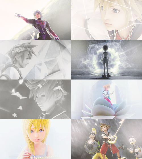 balthiers:  Kingdom Hearts II + White