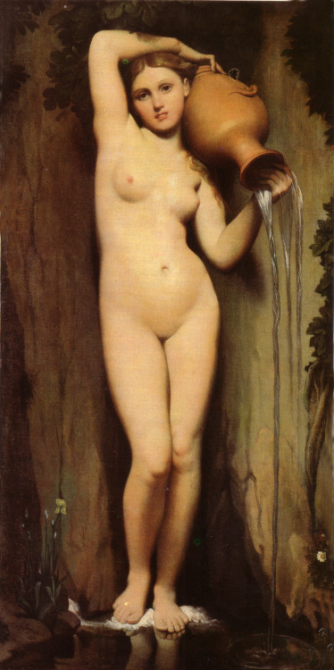 The Source, Jean Auguste Dominique Ingres, 1856