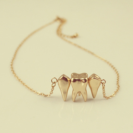 Tooth necklace  RM16