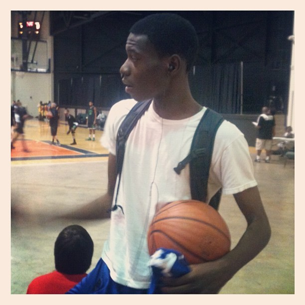 Love of the game #aau #themcongoboyz @wells_fargo32  (Taken with Instagram)