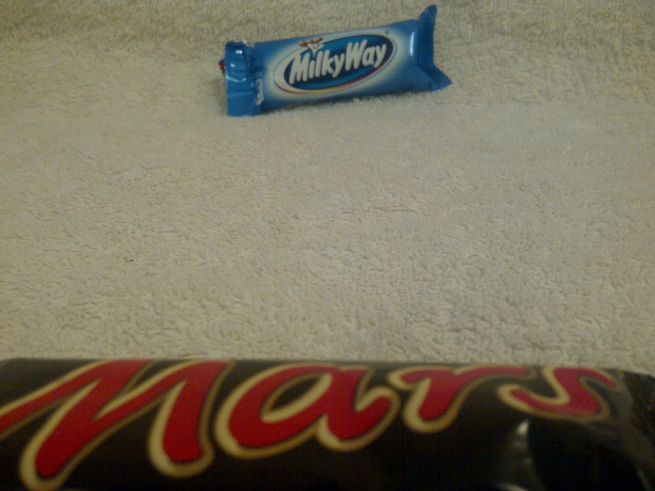 Breathtaking view of the Milky Way from the surface of Mars
